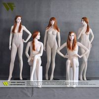 Sexy lifelike female sitting mannequin made in china thumbnail image