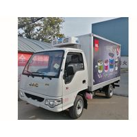 JAC 3 Ton 5 Ton 10 Ton Freezer Truck Refrigerator Truck Refrigerated Truck for Transport Ice Cream thumbnail image