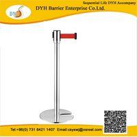 DYH 2014 Crowd control barrier Retractable belt barrier