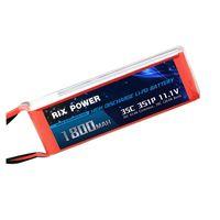 Rix Power RC Lipo Battery 1800mah 35c 3s