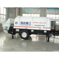 60m³/h diesel Trailer Concrete Pump