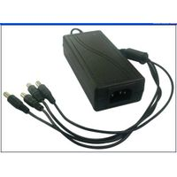 5A CCTV Switching 60W power adapter 4 channels with LED indicators for surveillance systems