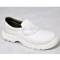 Low Cut White Microfibre Upper PU Sole Safety Shoes thumbnail image