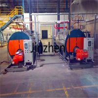 Small Automatic WNS Fire Tube Diesel Oil Natural Gas Fired Steam Boilers Price for food processing