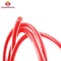 Purple waterproof tpu /pvc coated cord rope