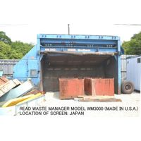 USED READ WASTE MANAGER MODEL WM3000 HYDRAULIC OPERATED VIBRATING SCREEN 2 DECKS (MADE IN USA) thumbnail image