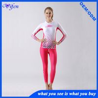 red ultrathin surfing wetsuit UPF50+ snorkeling diving suit swim wear anti-jellyfish rashguard fashi