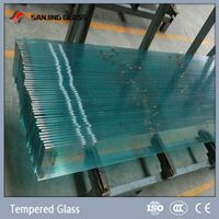6mm Tempered Glass Price For Glass Railing