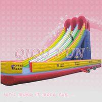 Inflatable  crazy slide