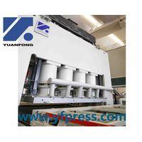 Hydraulic woodworking melamine press machine for plywood