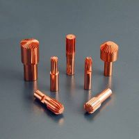 gear copper ctrode