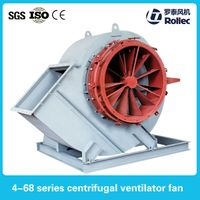 Industrial centrifugal aeration blower fan