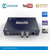 Professional iptv streaming encoder h 264 hd sdi to ip converter encoder hardware thumbnail image