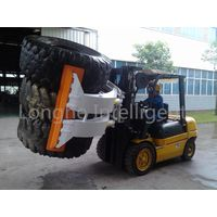Forklift Truck Tyre Clamp Rotating Attachment thumbnail image