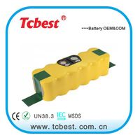 Shenzhen Supplier Ni-MH 14.4V 3500mAh Replacement battery for SR8855 VCR8895 VCR8855