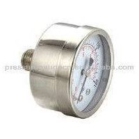 All stainless steel dry gauge