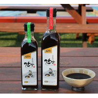 Korean traditional soy sause with Acer mono water