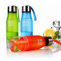 BPA Free Tritan 650ML H2O Lemon Water Drink Bottle thumbnail image