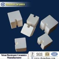 Wear resistant alumina ceramic block cube as abrasion materials