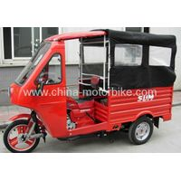 3 wheels motorcycle, passenger tricycle with cabin