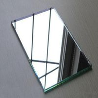 China mirror glass cut into size jumbo size 5mm clear aluminium mirror