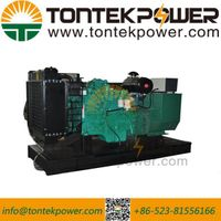 65kVA High rpm Electrical Starting Diesel Powerful Generator Set