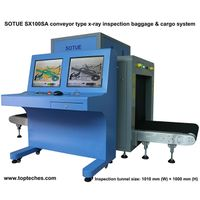 Big tunnel type x-ray inspection system, air cargo scanner, luggage x-ray machine thumbnail image