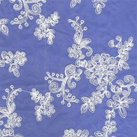 Embroidery lace fabric EF022