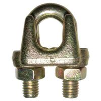 malleable type A wire rope clip