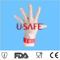 Stainless Steel Metal Mesh Glove-1221