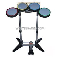 Brand New Rock Band Drums and Wired Guitar for XBOX360 (Original) thumbnail image