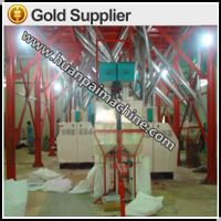 Automatic maize flour proessing machinery