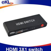 2014 hot sale HDMI 3x1 switch for HDTV,CCTV