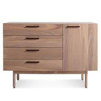 Blu Dot Shale credenza wooden cabinet