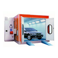 Hot selling diesel heating system paint oven booth for car