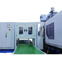 High Speed Side entry IML Robot IML System Labeling machine for Food containers