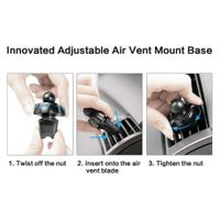 Magnetic Cell Phone Holder Mount for Car Air Vent Compatible with iPhone 12/12 Pro Max/Mini/SE 2020/ thumbnail image