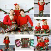 2016 new design wholesale winter christmas pajamas family