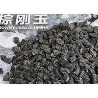 Monolithic Refractory Brown Alumina Sand Fe2O3 0.2% Max Good Toughness thumbnail image