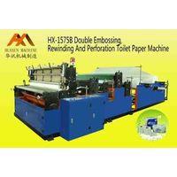 HX-1575B Rewinding & Perforating Toilet Paper Machine