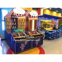 2018 Newest Indoor Coin Operated Ball Toss Arcade Carnival Game Down The Clown Redemption Game for s thumbnail image