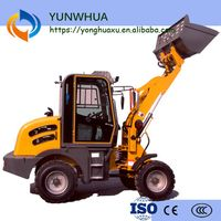 China original mini bucket 0.8ton wheel loader YZ908 construction equipment