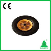 High Quality 4.00-8 solid rubber wheel