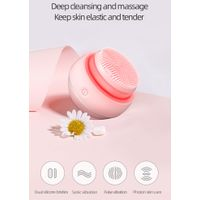 Facial Cleansing Brush beauty device LED photon brush