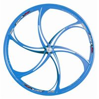6 spokes mag alloy bicycle wheels