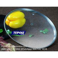 FDA Glass Lids LFGB Tempered Glass Lids Pot Lids Pan Lids thumbnail image