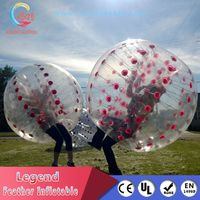 PVC/TPU Material Inflatable Bumper Ball for Adult