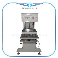 Pneumatic automatic precision double heat press machine