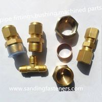 pipe fittings,bushings, machined parts thumbnail image