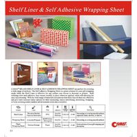 shelf liner & self adhesive wrapping sheet